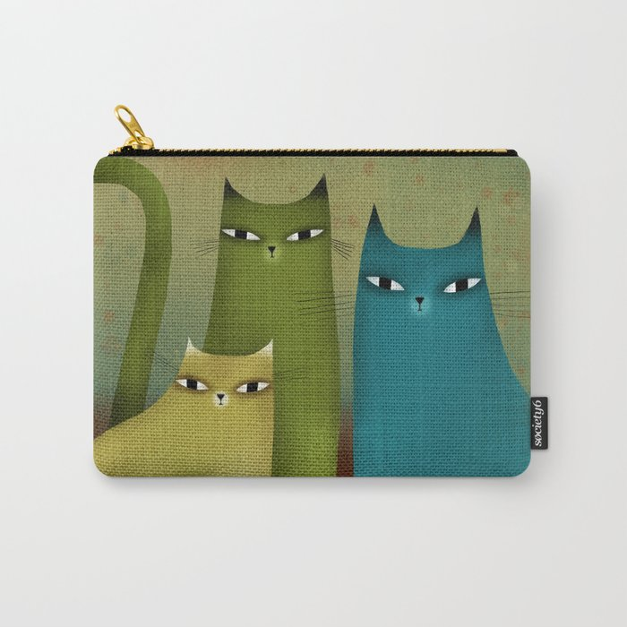 CAT STILL LIFE Carry-All Pouch