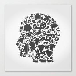 Head agriculture Canvas Print