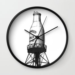 Montreal's Guaranteed Milk Co Limited Wall Clock