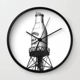Montreal's Guaranteed Milk Co Limited Wall Clock