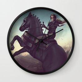 Warrior savage blood Wall Clock