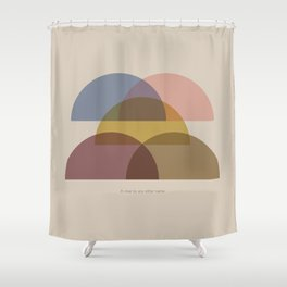 Rose Two Shower Curtain