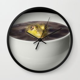 Yikes there is a Frog in my Java Wall Clock