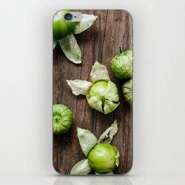 Tomatillos iPhone Skin