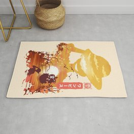 Pirate King One Piece Rug