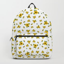 Ditsy Yellow Flowers Backpack