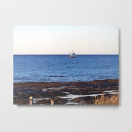Tallship on the Saint-Lawrence Metal Print