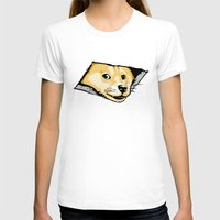 doge T-shirts featuring Ceiling Doge by Jimiyo