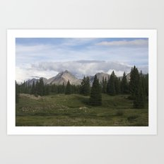 Molas Lake Art Print