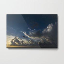 Sunset Cancun Metal Print