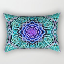 Echeveria Bliss Rectangular Pillow