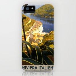 La Riviera italienne, Portofino près de S.Margherita et Rapallo iPhone Case