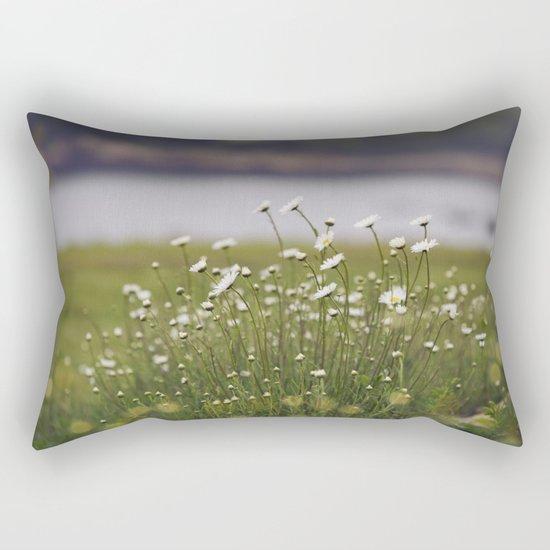 Wild Daisy's Rectangular Pillow