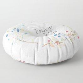 Enjoy your poop Floor Pillow