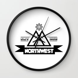 NW Wall Clock
