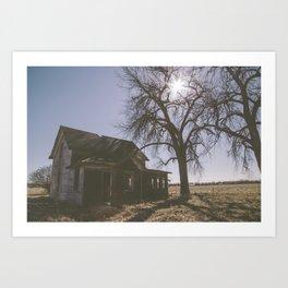 Abandoned: South Dakota 9801 Art Print