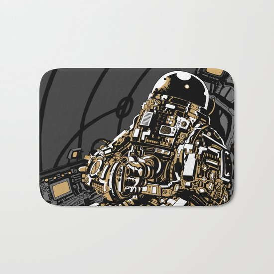 Full Throttle Bath Mat