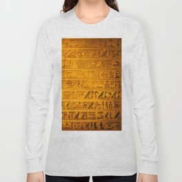 Gold Long Sleeve T-shirt