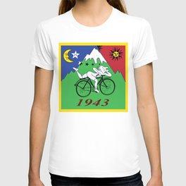 Bicycle Day 1943 Albert Hofmann LSD T-shirt
