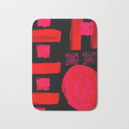 Passion Abstracted Bath Mat