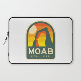 Moab Utah Patch Laptop Sleeve