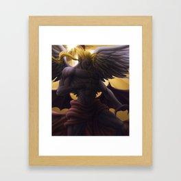 Kefka -  God form Framed Art Print