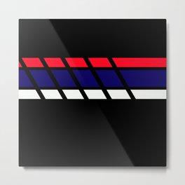 Team Colors 4...blue,red white Metal Print