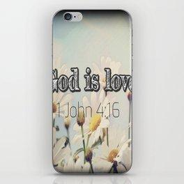 God is Love iPhone Skin