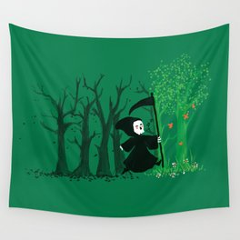 The hills WERE alive Wall Tapestry