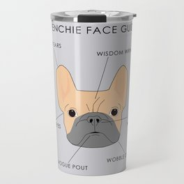 The French Bulldog Face Guide Travel Mug