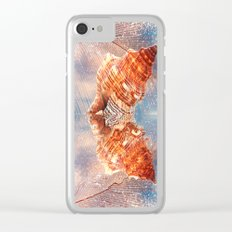 Dreams from the beach Clear iPhone Case
