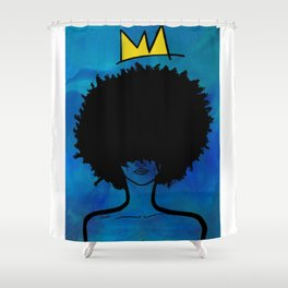 """""""Mirembe"""" - Peace Shower Curtain"""