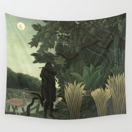 Henri Rousseau - The Snake Charmer Wall Tapestry