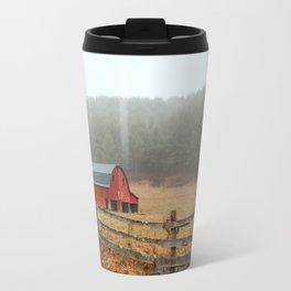 Red Barn Travel Mug