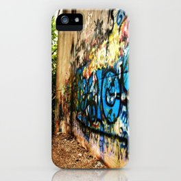 A -not so- clear path iPhone Case