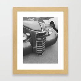Black and White Beauty Framed Art Print