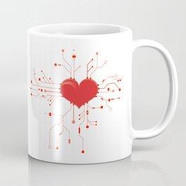 My Tech Heart Coffee Mug