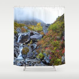 Independence Mine Waterfall Shower Curtain