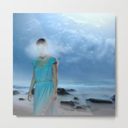 Lady of the Bay Metal Print
