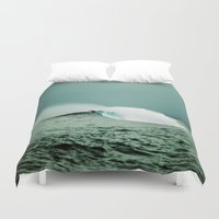 indonesia Duvet Covers featuring Empty, Indonesia by Maggie Marsek Photography