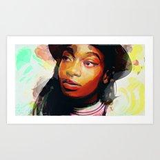 Little simz Art Print