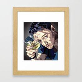"James McAvoy ""Rotoscoping"" Framed Art Print"