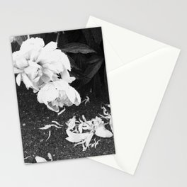 Let the Petals Fall Stationery Cards