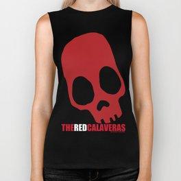 The Red Calaveras Biker Tank