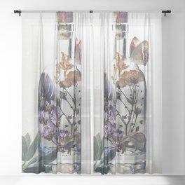 Sage and Bone Sheer Curtain