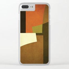 Abstract, Minimal, Minimalist, Geometry, Geometric, Modern Minimalist, Clear iPhone Case