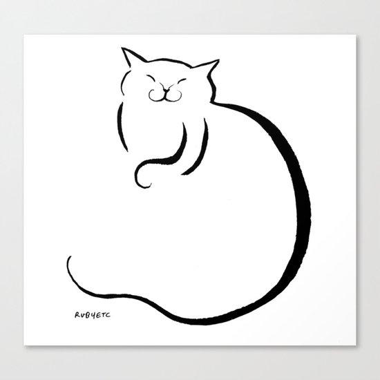 sleep orb Canvas Print