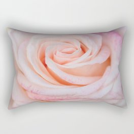 Pink Rose close up Rectangular Pillow