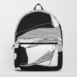 Sisterhood (B & W) Backpack