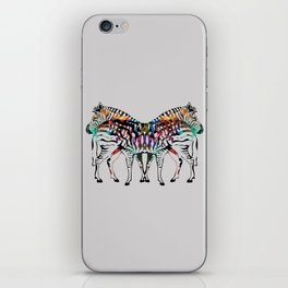 Zebra Illusion iPhone Skin